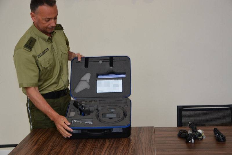 Пограничная служба получила от американцев новое устройство для обнаружения контрабанды