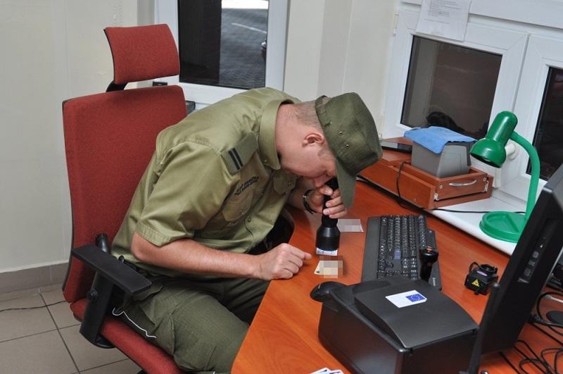 Поляк с поддельным украинским удостоверением