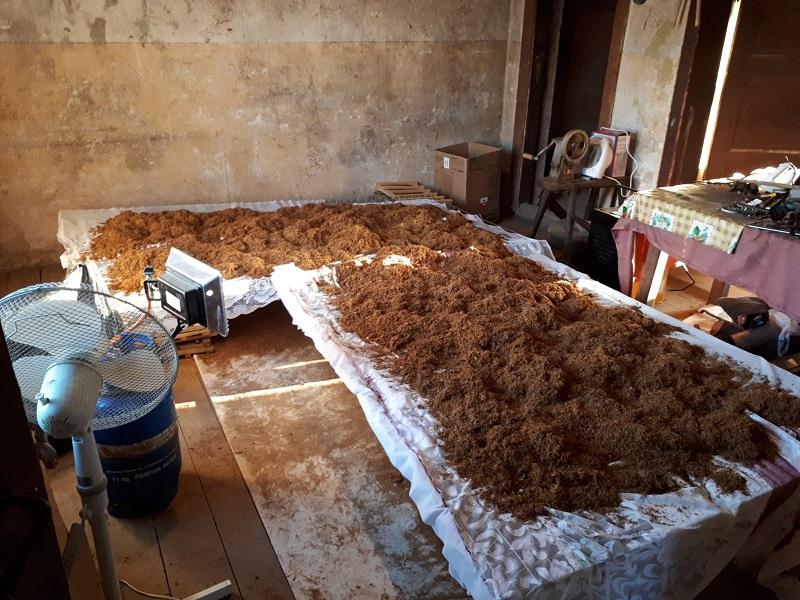 Закрыта очередная домашняя табачная фабрика возле границы